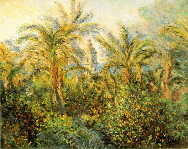 MONET: Palme a Bordighera