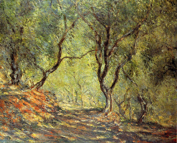 MONET: Ulivi a Bordighera