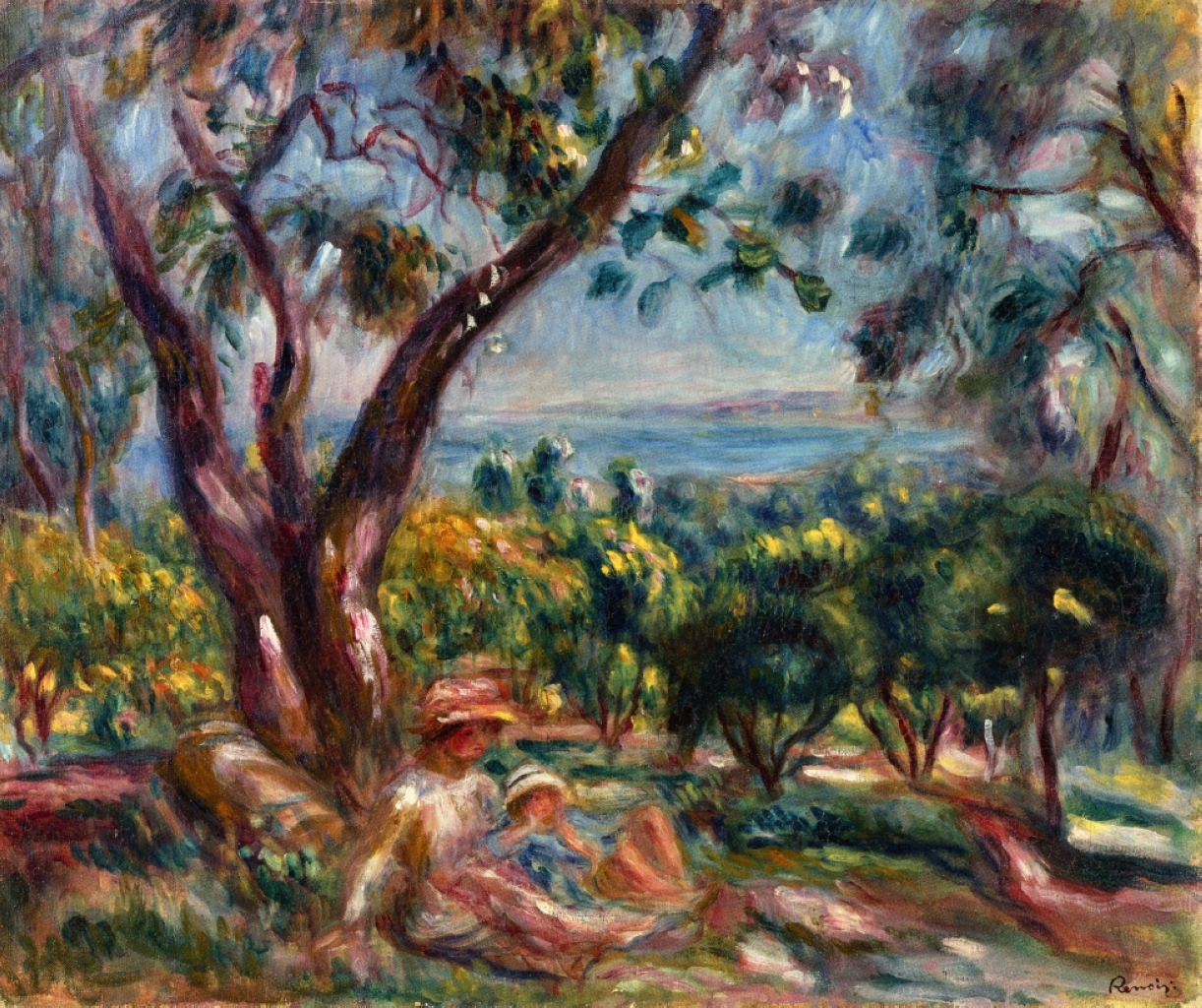 cagnes-landscape-with-woman-and-child-1910